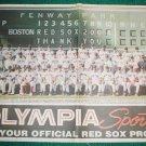 2004 Boston Red Sox Team Photo Poster David Ortiz Pedro Martinez World Series Champions