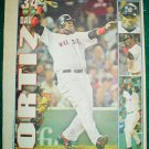 Boston Red Sox David Ortiz 2004 Newspaper Poster Photo Big Papi
