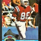New England Patriots Greg McMurtry Rookie Card RC 1991 Topps Stadium Club Football Card 192