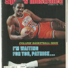 1982 Sports Illustrated College Basketball Preview Miami Dolphins Green Bay Packers 49ers Virginia