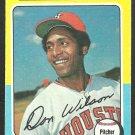 Houston Astros Don Wilson 1975 Topps Baseball Card 455 vg