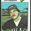 Chicago White Sox Jim Essian 1977 Topps Baseball Card 529 ex