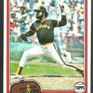 San Diego Padres John Curtis 1981 Topps Baseball Card 531 nr mt