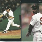 Boston Red Sox Rod Beck Jose Offerman 1999 Pinup Photo