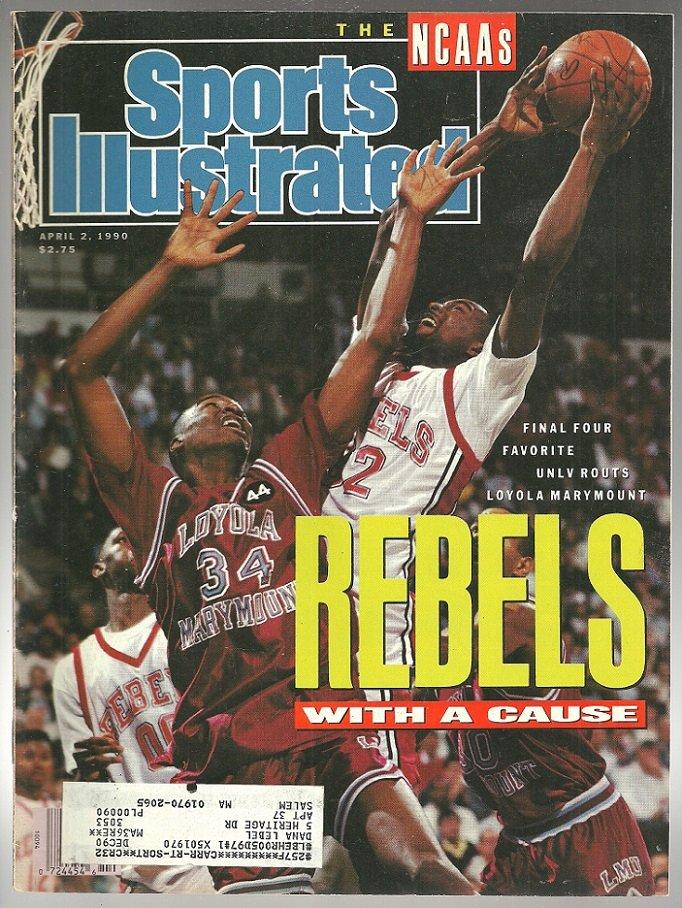 1990 Sports Illustrated UNLV Rebels Atlanta Braves San Antonio Spurs Augusta National Oklahoma State