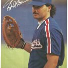 Texas Rangers Rafael Palmeiro 1991 8x10 Pinup Photo