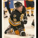 Boston Bruins Petri Skriko 1991 Upper Deck Hockey Card 334