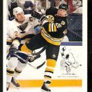 Boston Bruins Glen Wesley 1991 Upper Deck Hockey Card 370