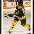 Boston Bruins Garry Galley 1991 Upper Deck Hockey Card 439
