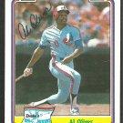 Montreal Expos Al Oliver 1984 Drakes Big Hitters Baseball Card 24