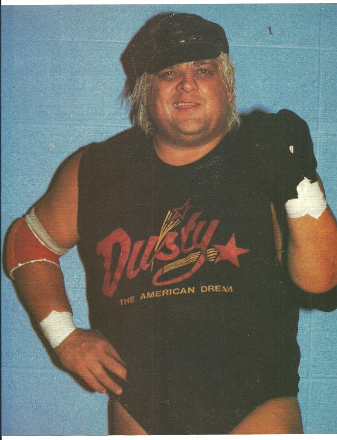 WWF Dusty Rhodes The American Dream 1986 Pinup Photo World Wrestling Federation