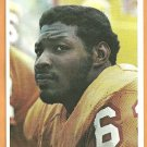 Tampa Bay Buccaneers Lee Roy Selmon 12 Rickey Bell 26 1980 Topps Super Football Card # 12