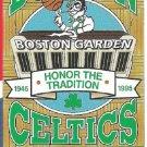 1994 1995 Boston Celtics Pocket Schedule Last Season of Boston Garden Honor the Tradition