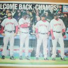 Boston Red Sox 2005 Newspaper Poster David Ortiz Manny Ramirez Johnny Damon Kevin Millar +