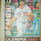 Boston Red Sox Johnny Damon 2004 Newspaper Poster