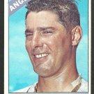 California Angels George Brunet 1966 Topps Baseball Card 393 vg