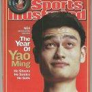 2003 Sports Illustrated Houston Rockets New York Rangers Uconn Huskies Duke Blue Devils Nascar
