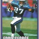 Tennessee Titans Eddie George 2000 Pinup Photo 8x10