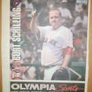 Boston Red Sox Curt Schilling 2005 Newspaper Poster