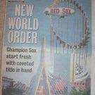 2005 World Champion Boston Red Sox Season Preview News Supplement
