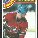 Montreal Canadiens Steve Shutt 1978 Topps Hockey Card 170 ex/nm