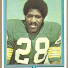 Green Bay Packers Willie Buchanon 1974 Topps Football Card 292 ex