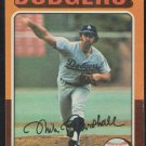 Los Angeles Dodgers Mike Marshall 1975 Topps Baseball Card 330 vg