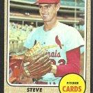 St Louis Cardinals Steve Carlton 1968 Topps Baseball Card 408 ex