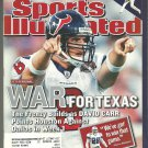 2002 Sports Illustrated Houston Texans San Francisco Giants Atlanta Braves Miami Hurricanes Cowboys