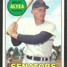 Washington Senators Brant Alyea 1969 Topps Baseball Card 48 vg