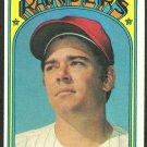 Texas Rangers Ken Suarez 1972 Topps Baseball Card 483 vg/ex