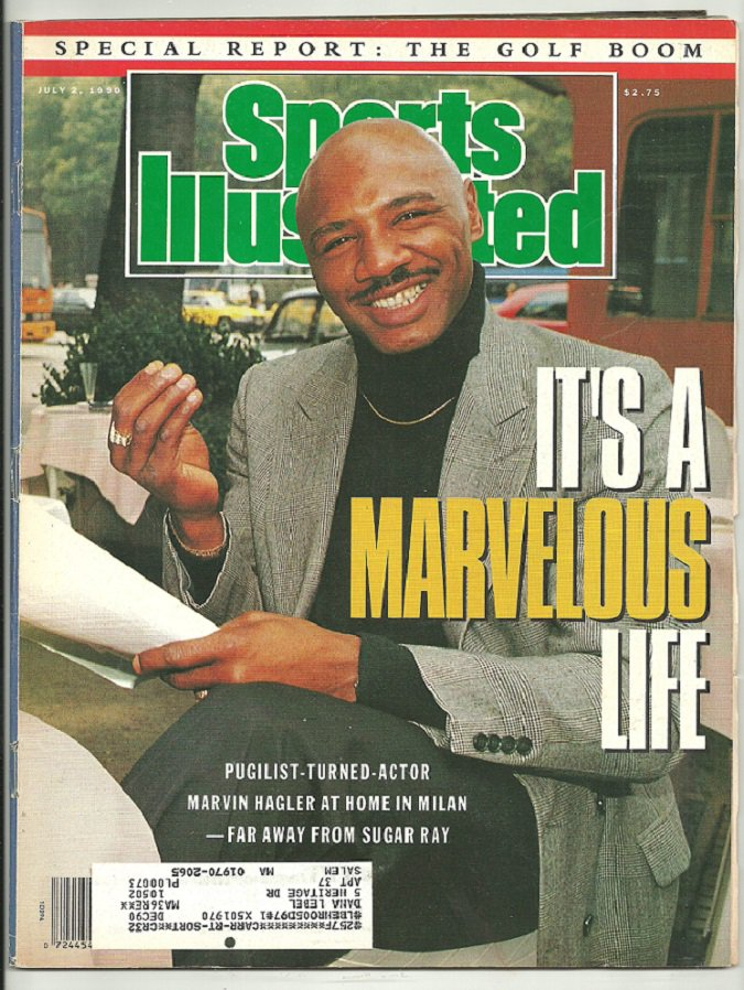 1990 Sports Illustrated Boston Red Sox Roger Clemens Oakland Raiders Marvin Hagler World Cup
