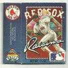 1991 Boston Red Sox California Raisins Box
