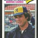 Milwaukee Brewers Bernie Carbo 1977 Topps Baseball Card 159 vg