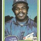 Chicago White Sox Lamar Johnson 1981 Topps Baseball Card 589 nr mt