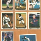 1993 Topps Gold Insert Cleveland Indians Team Lot 8 diff Steve Olin Charles Nagy Paul Sorrento