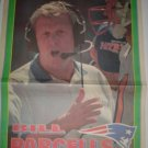 New England Patriots Bill Parcells 1995 Boston Herald Poster