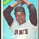 San Francisco Giants Juan Marichal 1966 Topps Baseball Card 420 vg