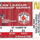 Boston Red Sox 2005 ALCS American League Championship Series Unused Ticket Fenway Park