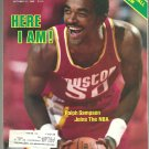 1983 Sports Illustrated NBA Preview Houston Rockets New York Knicks Notre Dame Buffalo Sabres 49ers