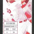 Los Angeles Angels Boston Red Sox 2015 Ticket Mike Napoli HR Xander Bogarts Wade Miley