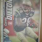 New England Patriots Corey Dillon 2005 Newspaper Poster