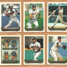 1993 Topps Gold Insert Atlanta Braves Team Lot 13 David Justice Ron Gant Ryan Klesko RC Bobby Cox