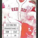 Tampa Bay Rays Boston Red Sox 2015 Ticket Brandon Guyer hr James Loney Hanley Ramirez