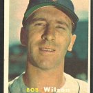 Detroit Tigers Bob Wilson 1957 Topps Baseball Card 19 nr mt