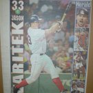 Boston Red Sox Jason Varitek 2004 Newspaper Poster