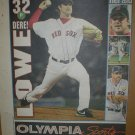 Boston Red Sox Derek Lowe 2004 Newspaper Poster