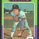 Minnesota Twins Tom Burgmeier 1975 Topps Baseball Card 478 ex
