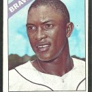 Atlanta Braves Sandy Alomar 1966 Topps Baseball Card 428 ex