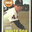 Chicago White Sox Cisco Carlos 1969 Topps Baseball Card 54 good